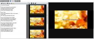 Slides com a mesma imagem